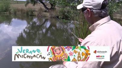 """Pesca en Directo 2015. Episodio 8: """"Carposaurio"""" del Oriente de Michoacán (parte 1)"""