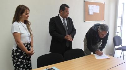 El Mtro. Javier Alvarado Díaz, fue designado por el rector como director interino del INIRENA