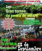 1er. Gran Torneo de Pesca de Estero