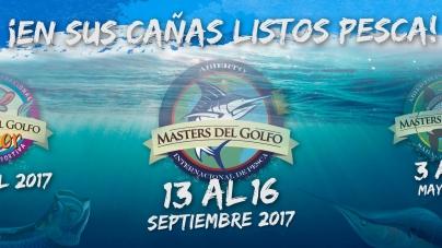 """Fechas del Abierto Internacional de Pesca """"Masters del Golfo"""""""