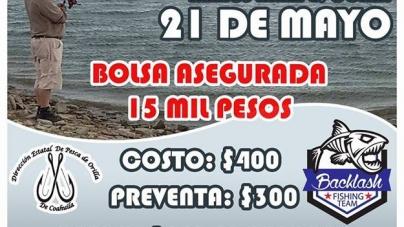 Torneo de pesca de orilla en homenaje a Lic. Alejandro Freire de la Peña