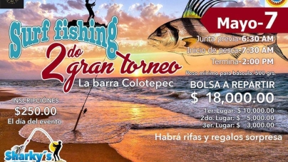 2do Gran Torneo de Surf Fishing, La Barra Colotepec