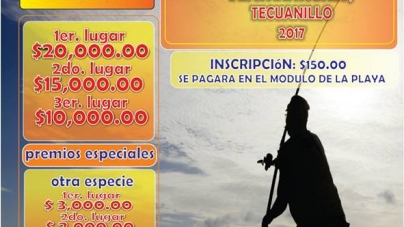 8° Torneo internacional de pesca de Robalo Tecuanillo 2017
