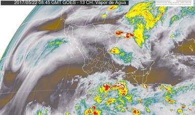 Se esperan tormentas en distintas regiones del país