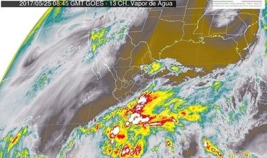 En Chiapas, se esperan fuertes tormentas