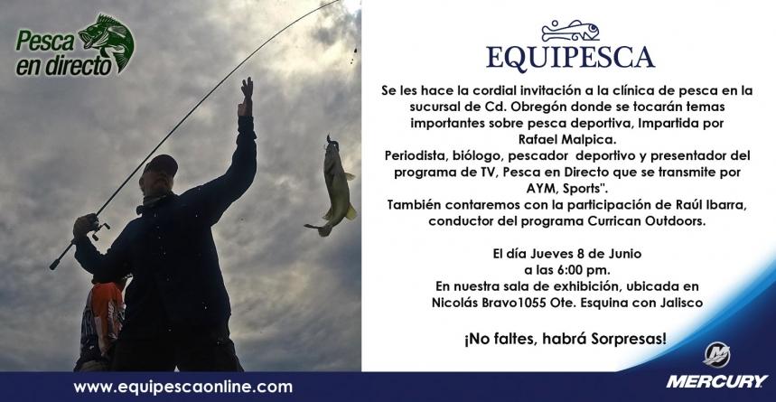 Pesca en Directo y Currican Outdoors en Equipesca, Cd. Obregón