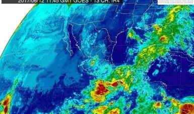 Persistirán tormentas muy fuertes en distintas regiones del país