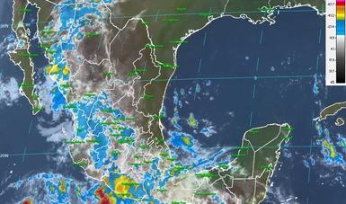 Continúan las tormentas intensas en el centro y sur del país