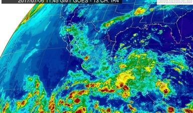 Se pronostican tormentas intensas en diferentes puntos del país