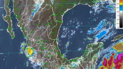 Para hoy: Eclipse solar, tormentas muy fuertes y temperaturas de más de 40 °C en diferentes partes de México
