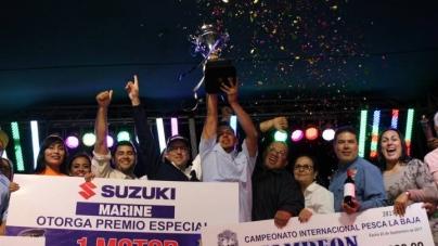 """Más de 800 competidores y 2 MDD en derrama económica para la región, en serial Pesca La Baja"""""""