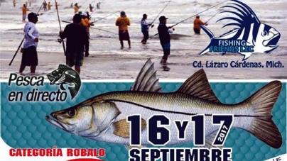 2°. Torneo de Pesca, Caña y Carrete del club Fishing Friends LZC, en Lázaro Cárdenas, Michoacán (16 y 17 septiembre 2017)