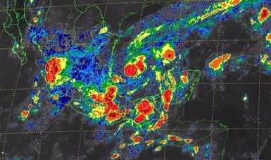 La interacción del huracán katia y el Frente frío no. 2, traerán lluvias torrenciales al territorio nacional