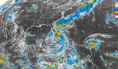 Tormentas intensas se prevén en el sur del país