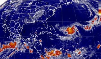 Tormentas intensas se pronostican para el occidente del país