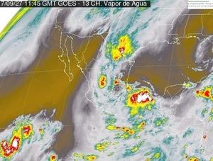 Para este miércoles se esperan tormentas intensas en distintos puntos del país