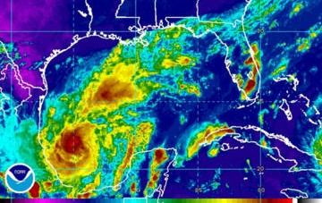 ¡Hay que tomar precauciones ante el huracán Katia!