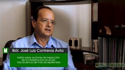 CESAMICH – Sin daño infraestructura acuícola en Michoacán tras sismos de septiembre de 2017