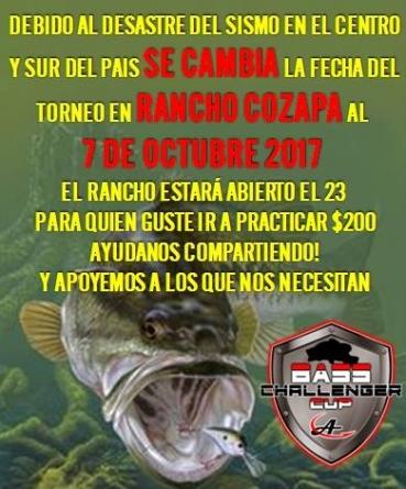 Se pospone el torneo en Rancho Cozapa