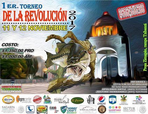 Primer tornero de la Revolución 2017 en Tzibanzá, Querétaro, presa Zimapán