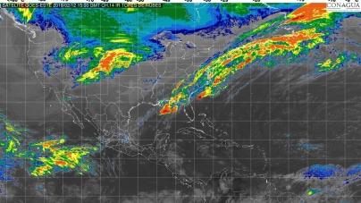 En Tamaulipas, Hidalgo, Puebla, Veracruz, Oaxaca, Chiapas y Tabasco se prevén lluvias fuertes
