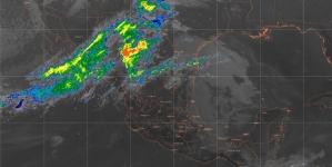 Se prevén lluvias fuertes con descargas eléctricas y granizadas en localidades de Veracruz, Oaxaca y Chiapas