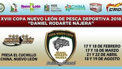 XVIII Copa Nuevo León de pesca deportiva 2018