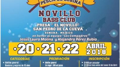 Noveno torneo internacional de pesa de lobina Novillo Bass Club