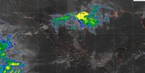 Se pronostican lluvias fuertes en el sur de Veracruz, el norte de Oaxaca y el oriente y el sur de Chiapas