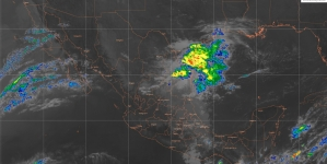 Vientos fuertes con rachas superiores a 60 km/h se pronostican durante este sábado en el Istmo y el Golfo de Tehuantepec.