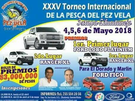XXXV Torneo internacional de pesca del pez vela