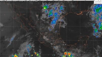 Hoy se prevén lluvias muy fuertes en áreas de Chiapas y Oaxaca