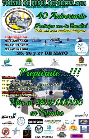 40 aniversario torneo internacional Prof. Augusto R. Sosa Centeno