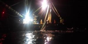 Sancionan a propietarios del camaronero que realizaba pesca ilegal comercial en San Sebastián Vizcaíno, Baja California Sur