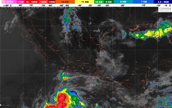 Se formó la tormenta tropical Aletta en el Océano Pacífico