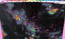 Prevén tormentas intensas en Sonora y muy fuertes en Chihuahua, Nayarit, Jalisco, Michoacán, Guerrero, Oaxaca y Veracruz