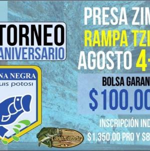 35 Torneo de aniversario lobina negra San Luis Potosí