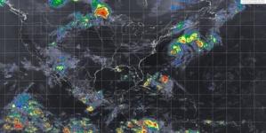 El pronóstico para hoy es de tormentas muy fuertes en Durango, Sinaloa, Nayarit, Veracruz y Oaxaca