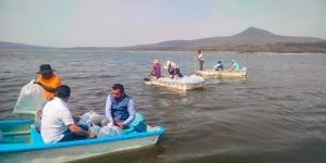Veda para todas las especies de pesca comercial en la Presa Melchor Ocampo de Michoacán