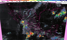 En las próximas horas se prevén tormentas muy fuertes en Durango, Sinaloa, Nayarit, Jalisco, Veracruz, Oaxaca y Chiapas