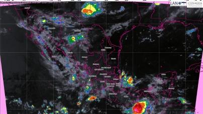Tormentas intensas con posibles granizadas se prevén para hoy en regiones de Sinaloa y Nayarit