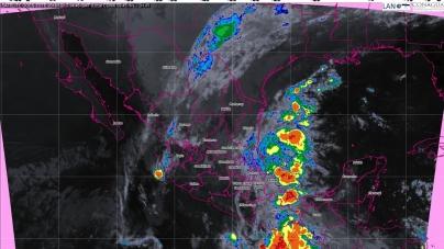 En Puebla y Veracruz, se pronostican tormentas torrenciales