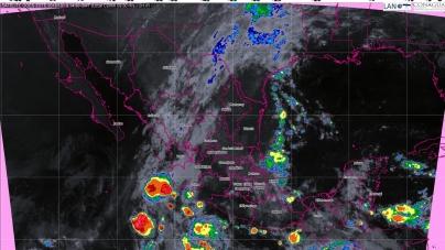 Tormentas intensas, se prevén en Veracruz, San Luis Potosí, Oaxaca y Chiapas