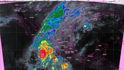 Tormentas intensas en Jalisco, Colima, Michoacán, Guerrero, Oaxaca, Chiapas, Tamaulipas, Veracruz y Puebla