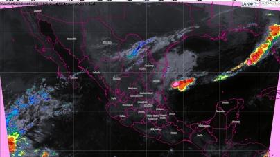 Durante las próximas horas se prevén tormentas muy fuertes en San Luis Potosí, Hidalgo, Puebla y Veracruz