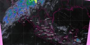 Prevén tormentas fuertes en regiones de Michoacán, Guerrero, Oaxaca, Chiapas, Veracruz y Tabasco