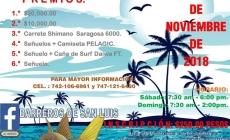Primer torneo de pesca de robalo de orilla, Barra de San Luís la Loma, Tecpán de Gal., Guerrero