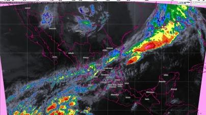 En Puebla, Veracruz y Oaxaca, se prevén tormentas intensas
