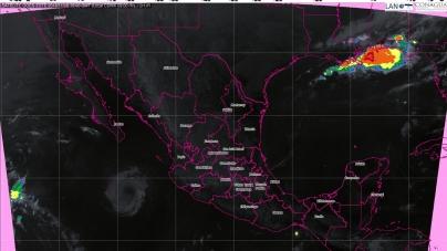 Pronostican tormentas fuertes para Oaxaca y Chiapas
