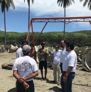 Colocan 500 arrecifes artificiales en Caleta de Campos, Michoacán para elevar la captura pesquera